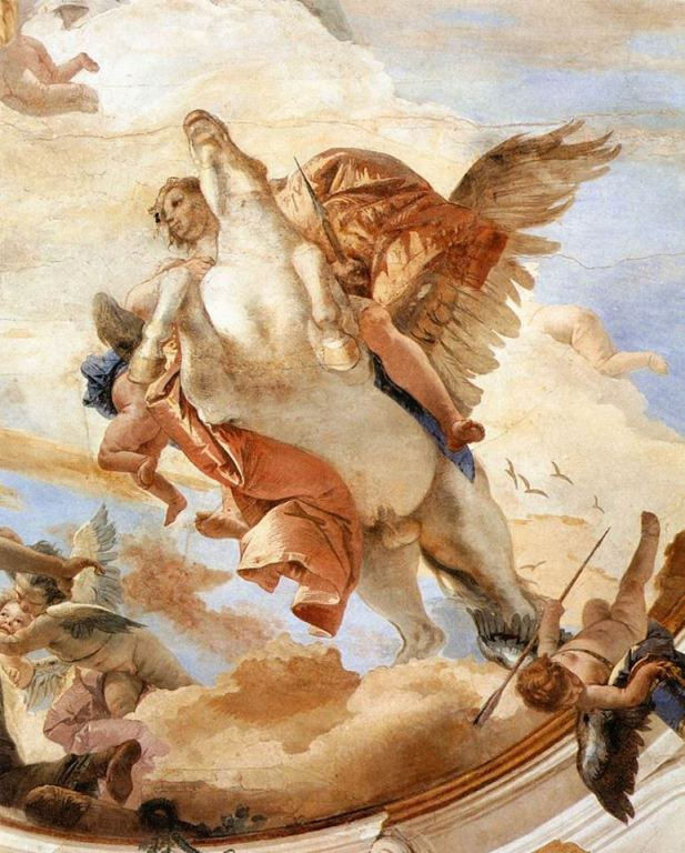bellerophon on pegasus_GBTiepolo
