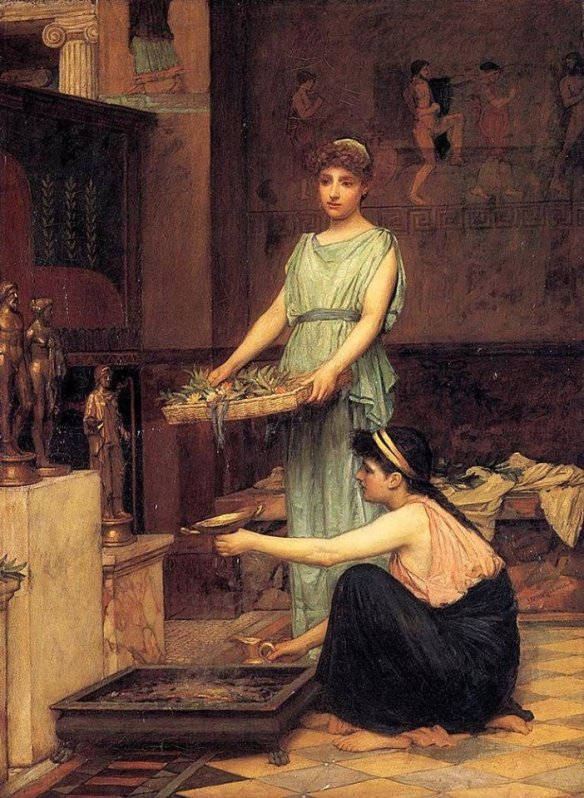 the-household-gods-waterhouse